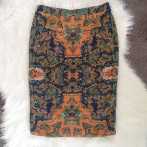 CHELSEA AND THEODORE PENCIL SKIRT